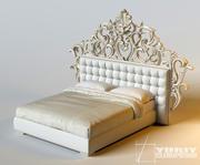 ristad säng (1) 3d model
