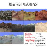 다른 지형 ALMC-01 팩 3d model
