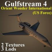 GLF4 USA 3d model