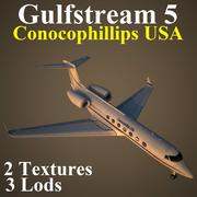 GLF5 USA 3d model