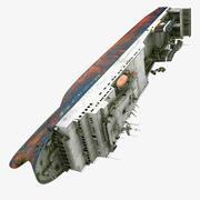 Zenobia Ship 3d model