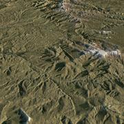 地形 3d model