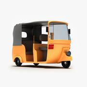 Toon Rickshaw 3d model