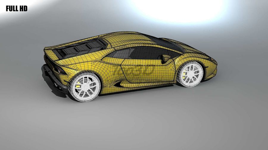 huracan_L2 royalty-free 3d model - Preview no. 10