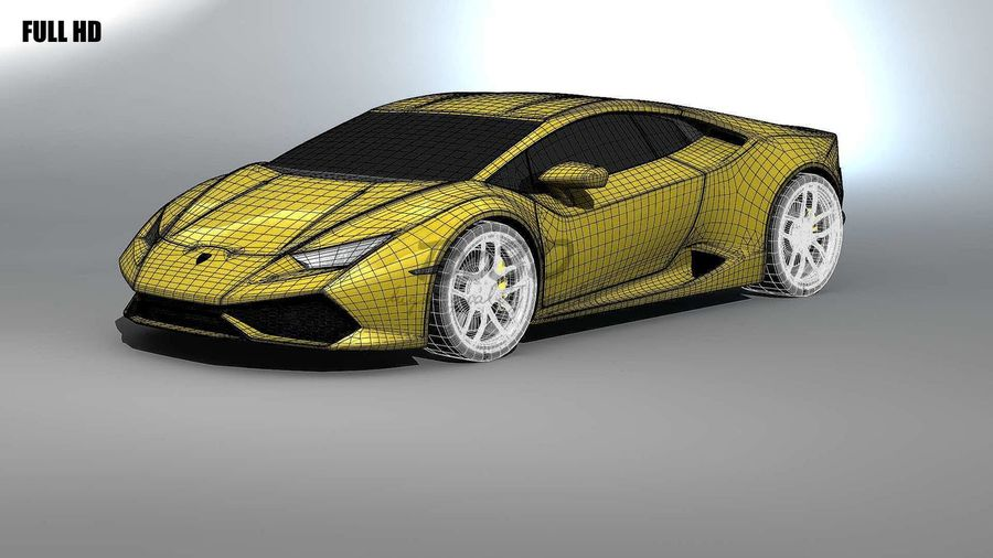 huracan_L2 royalty-free 3d model - Preview no. 14