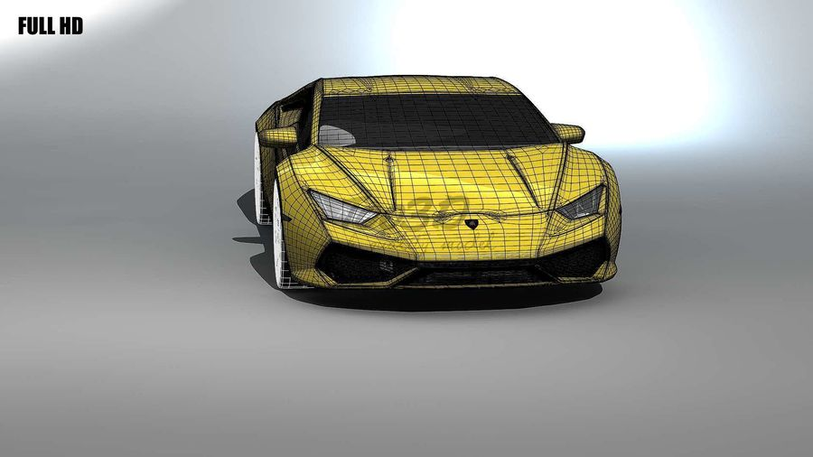 huracan_L2 royalty-free 3d model - Preview no. 15