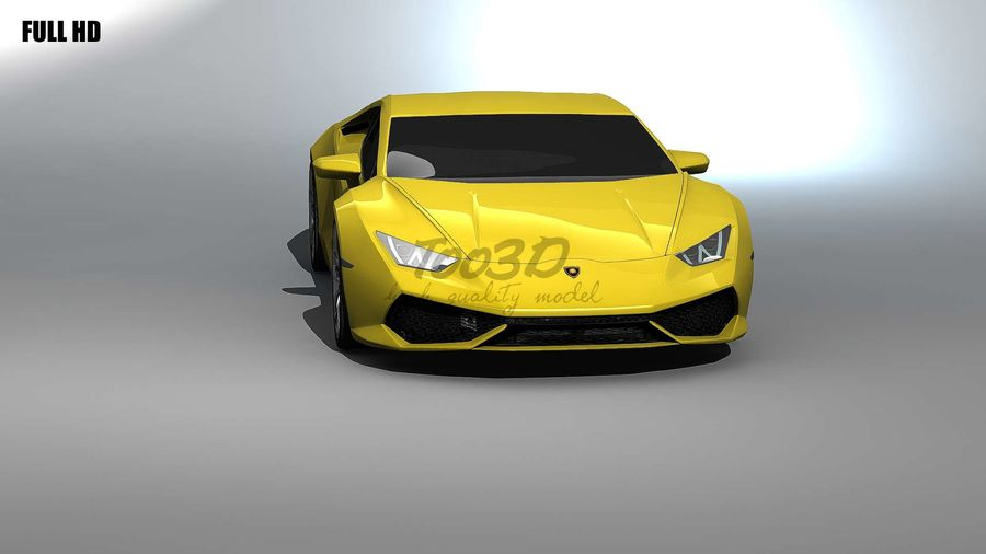 huracan_L2 royalty-free 3d model - Preview no. 7
