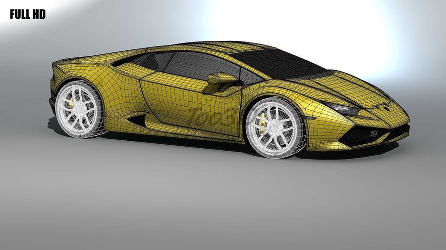 huracan_L2 royalty-free 3d model - Preview no. 16