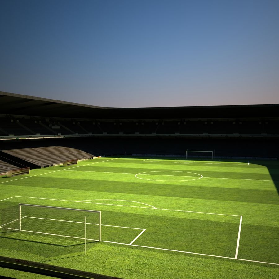 Stadio di calcio royalty-free 3d model - Preview no. 6