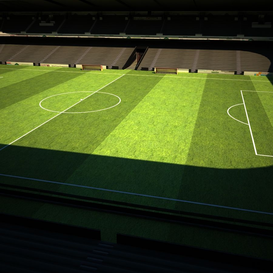 Stadio di calcio royalty-free 3d model - Preview no. 2