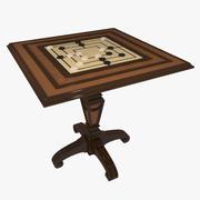 Gambling Table Checkers 3d model