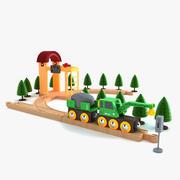 儿童火车套装3 3d model