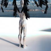 anjo da Morte 3d model