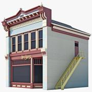 Maison de boulangerie 3d model