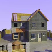 Construção e Local da Casa 3d model