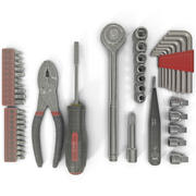 Precision Tools Set 2 3d model
