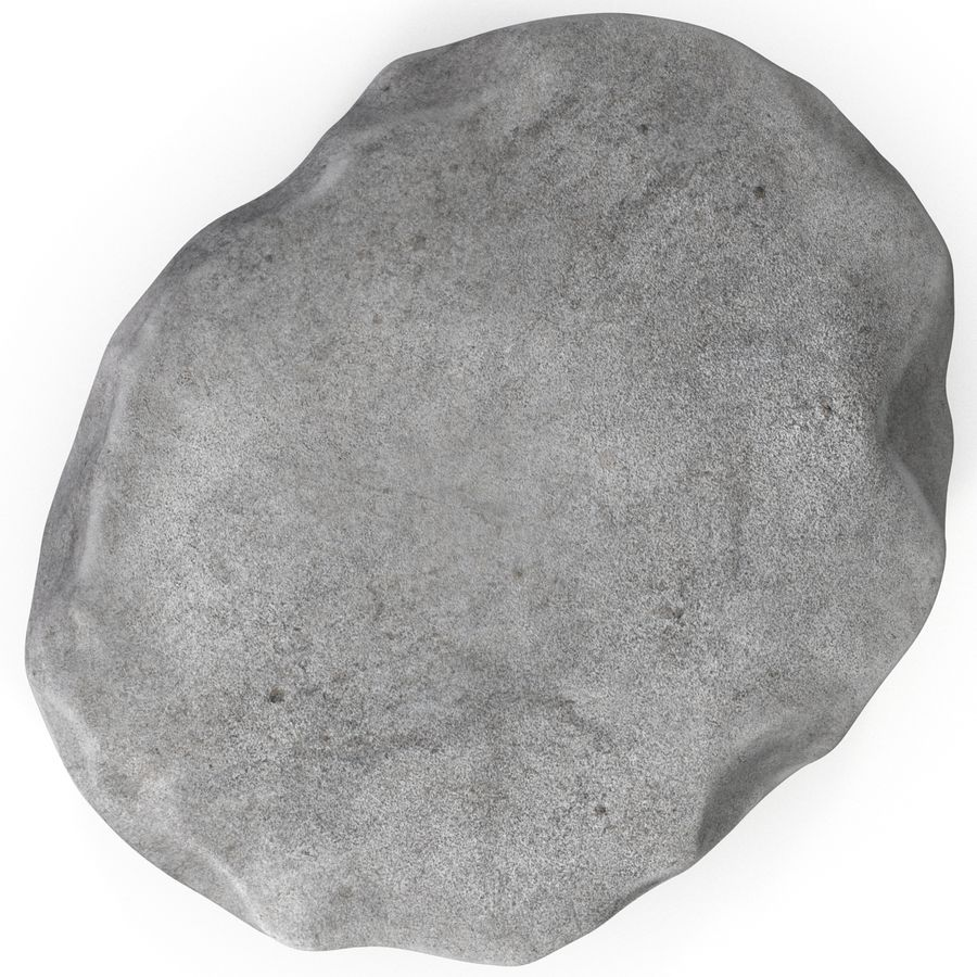 Trilobite Fossil royalty-free 3d model - Preview no. 8