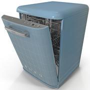 Retro Diswasher 3d model