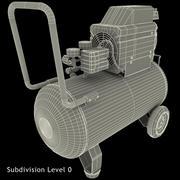 Oljefri luftkompressor Campbell Hausfeld 3d model