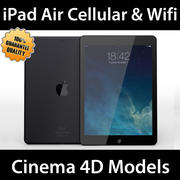 iPad Air Cellular e Wifi C4D 3d model