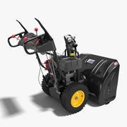 Schneefräse 3d model