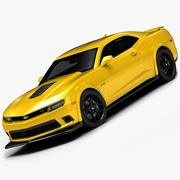 2014 Chevrolet Camaro Z28 (interni bassi) 3d model