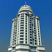 Prinzessin Tower Dubai 3d model