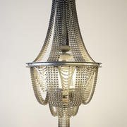 chandelier made of bicycle chains 3d model