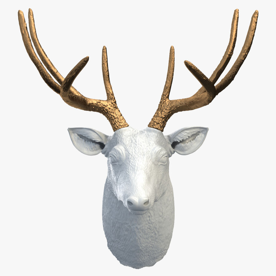 Fausse taxidermie - Cerf royalty-free 3d model - Preview no. 1