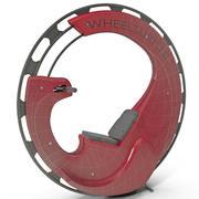 电动单轮单轮车 3d model