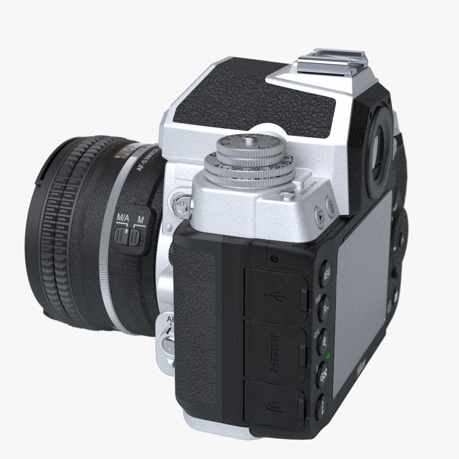 Nikon DF DSLR royalty-free 3d model - Preview no. 5
