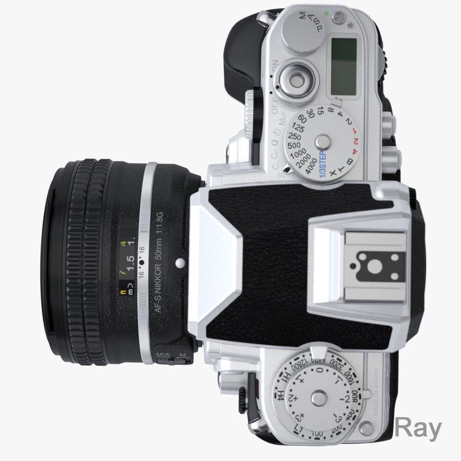 Nikon DF DSLR royalty-free 3d model - Preview no. 12