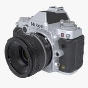 Nikon DF DSLR 3d model
