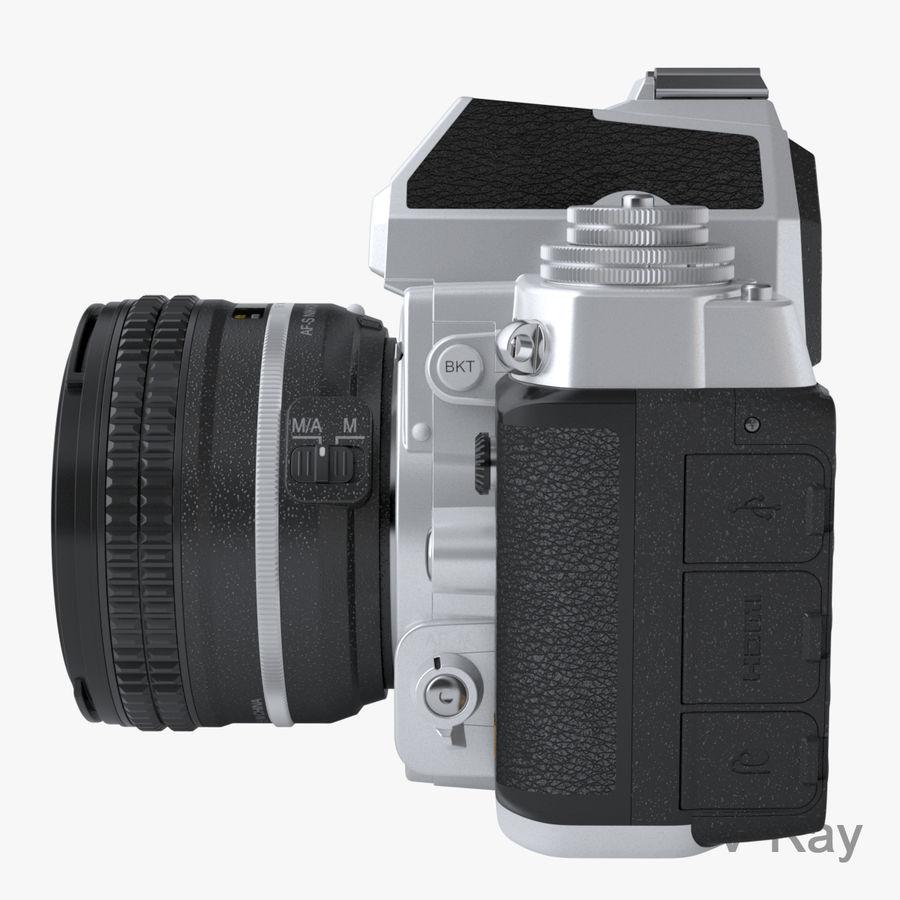 Nikon DF DSLR royalty-free 3d model - Preview no. 11
