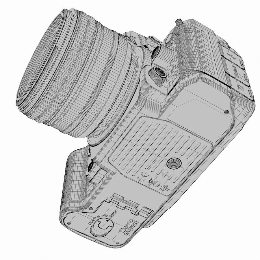 Nikon DF DSLR royalty-free 3d model - Preview no. 22