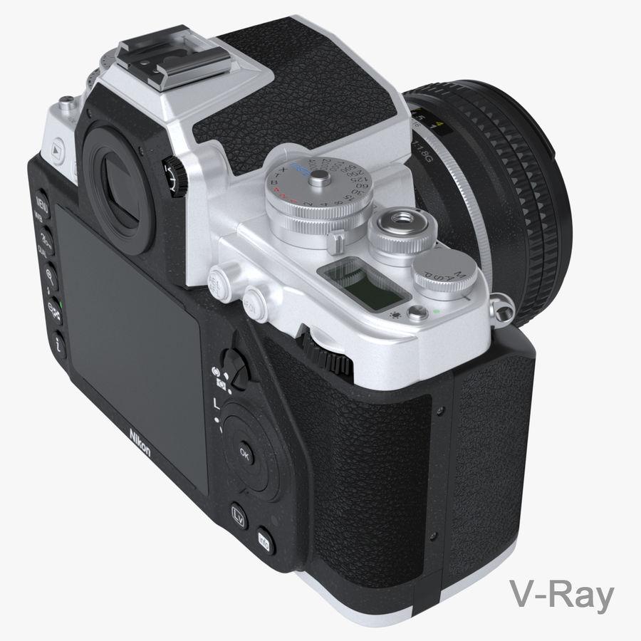 Nikon DF DSLR royalty-free 3d model - Preview no. 14