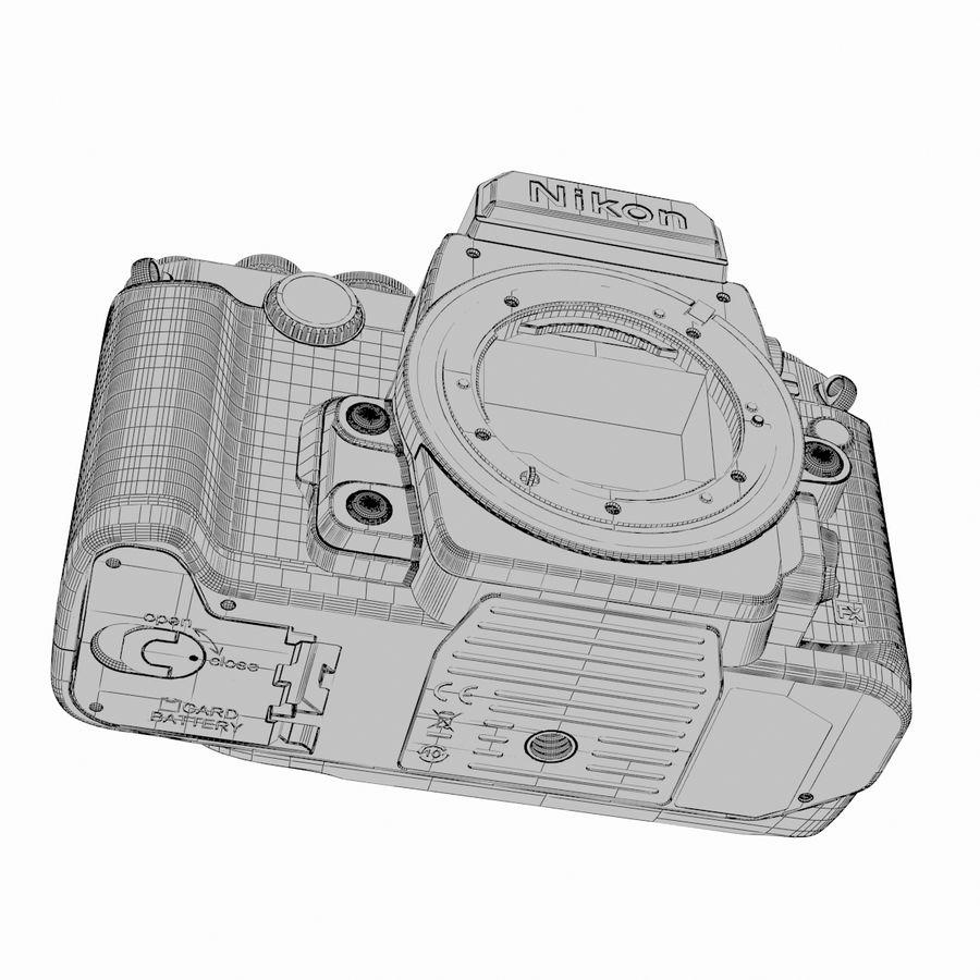 Nikon DF DSLR royalty-free 3d model - Preview no. 23
