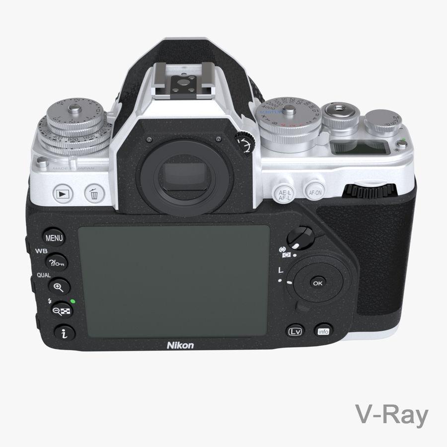 Nikon DF DSLR royalty-free 3d model - Preview no. 15