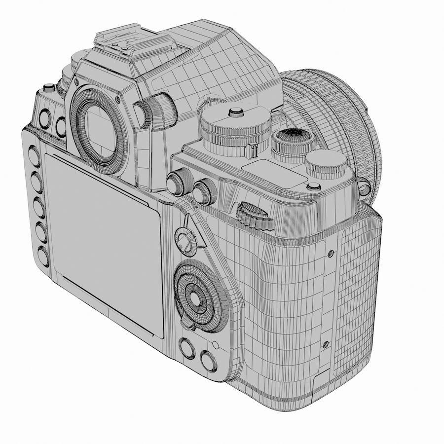 Nikon DF DSLR royalty-free 3d model - Preview no. 20