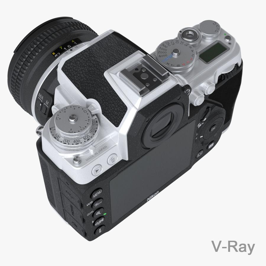 Nikon DF DSLR royalty-free 3d model - Preview no. 13