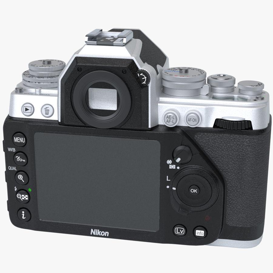 Nikon DF DSLR royalty-free 3d model - Preview no. 4