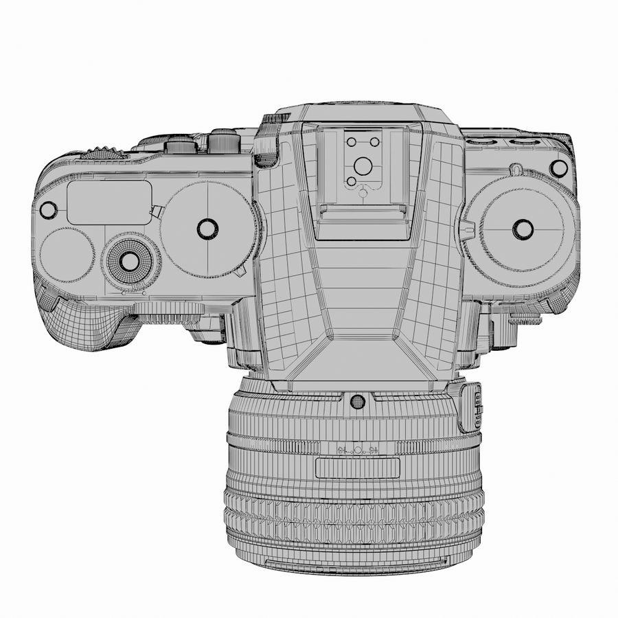 Nikon DF DSLR royalty-free 3d model - Preview no. 18