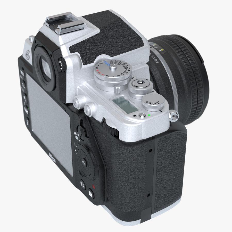 Nikon DF DSLR royalty-free 3d model - Preview no. 6