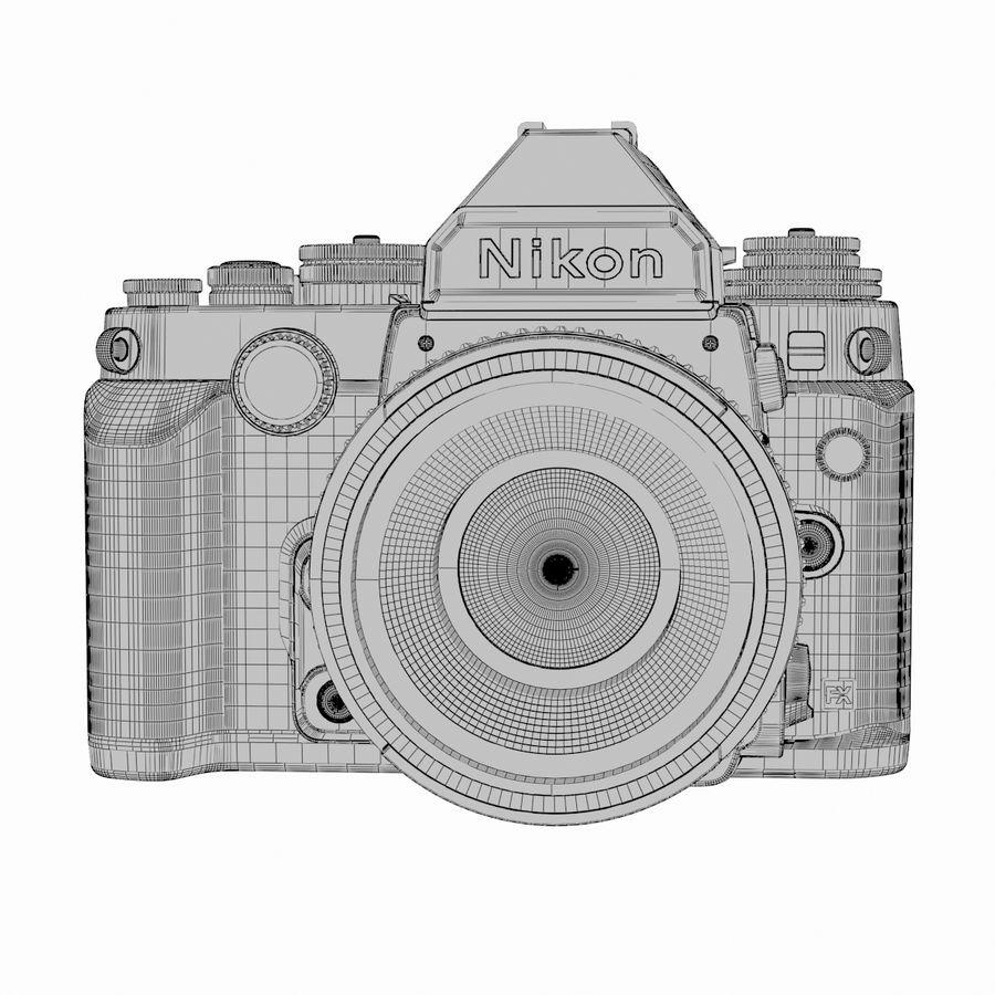 Nikon DF DSLR royalty-free 3d model - Preview no. 19