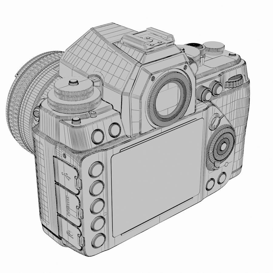 Nikon DF DSLR royalty-free 3d model - Preview no. 21