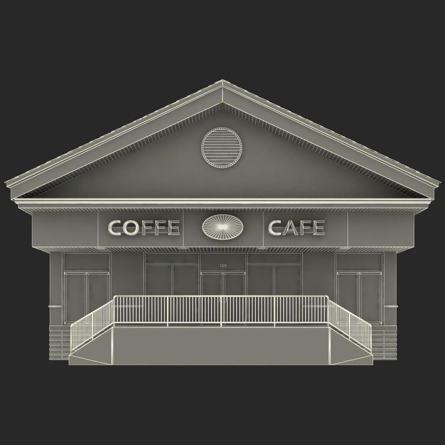 Kafé royalty-free 3d model - Preview no. 26