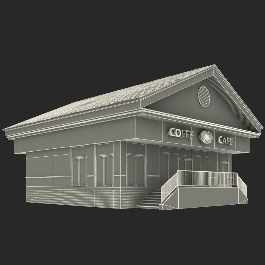 Kafé royalty-free 3d model - Preview no. 27