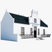 Cape Dutch House 3d model
