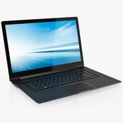 노트북 일반 15 인치 검은 색 2018 3d model