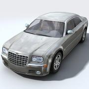 Car16 Chrysler 300C 3d model